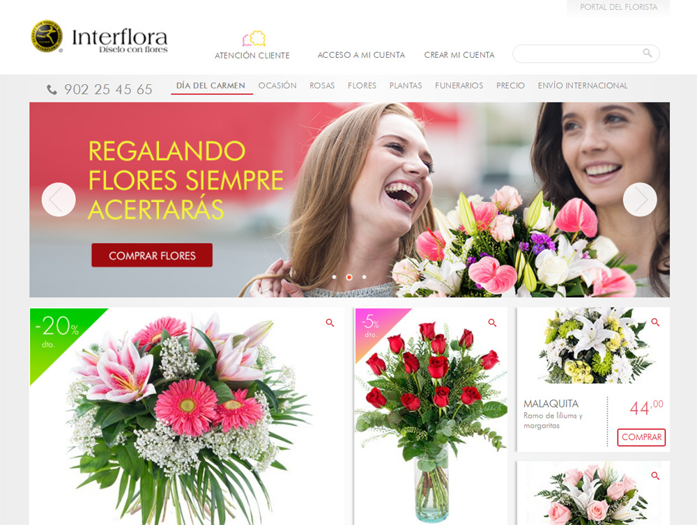 Floristería Interflora
