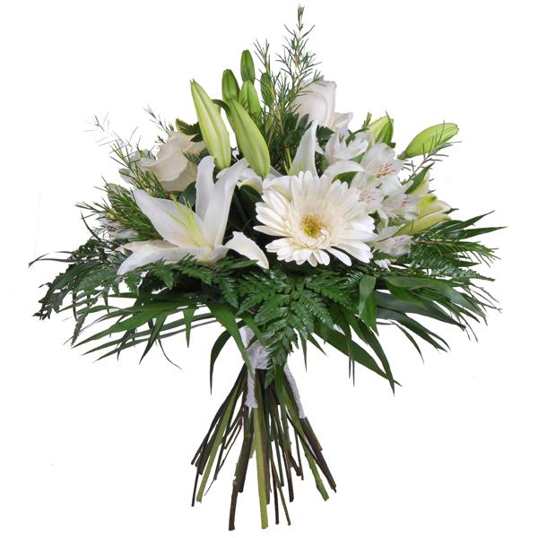 Ramo de flores blanco